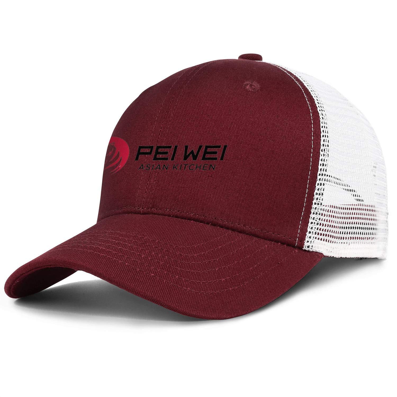 chenhou Unisex Pei Wei Asian Kitchen Hat Adjustable Fitted Dad Baseball Cap Trucker Hat Cowboy Hat