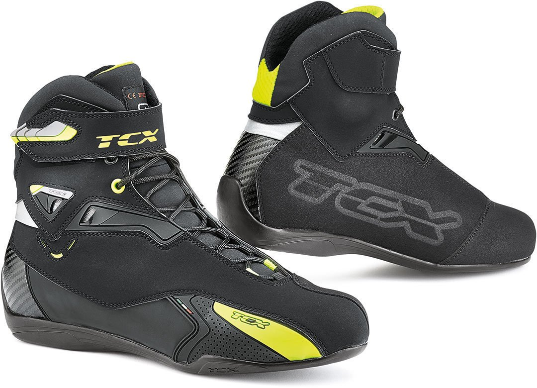 Black//Fluorescent Yellow TCX Rush Waterproof Boots EU 45 // US 11