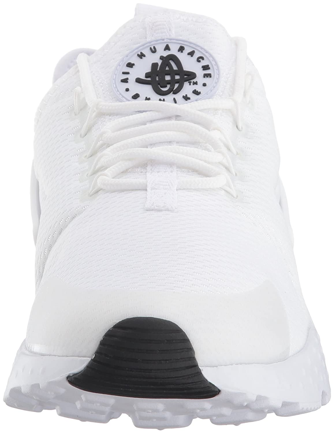 NIKE Women's Air Huarache Run Ultra Running Shoe B00IBOH9AG 6 B(M) US|White/White/White/Black