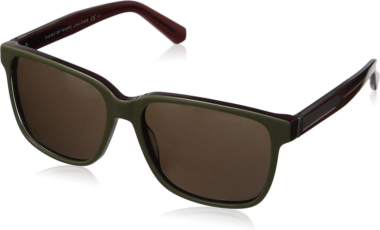 Marc by Marc Jacobs MMJ 410/S gafas de sol, Marrón (Brown/Green), Talla única (Talla del fabricante: One size) Unisex Adulto