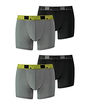 feine handwerkskunst achten Sie auf geeignet für Männer/Frauen Puma Herren ACTIVE Boxershorts Boxer Unterwäsche Unterhosen Sport im 2x2er  Pack Vorteilspack