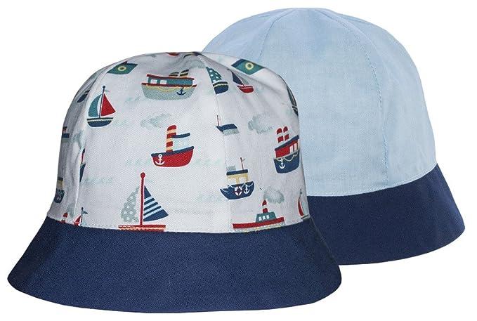 Amazon.com  Sun Hat - Reversible - Little Sailor - XX Small  Clothing eca94630520d