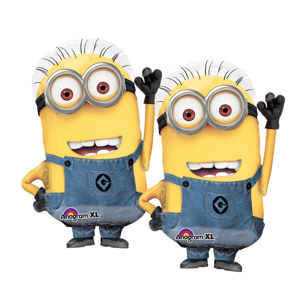 Set of 2 Licensed Minions 25' Foil Party Balloons