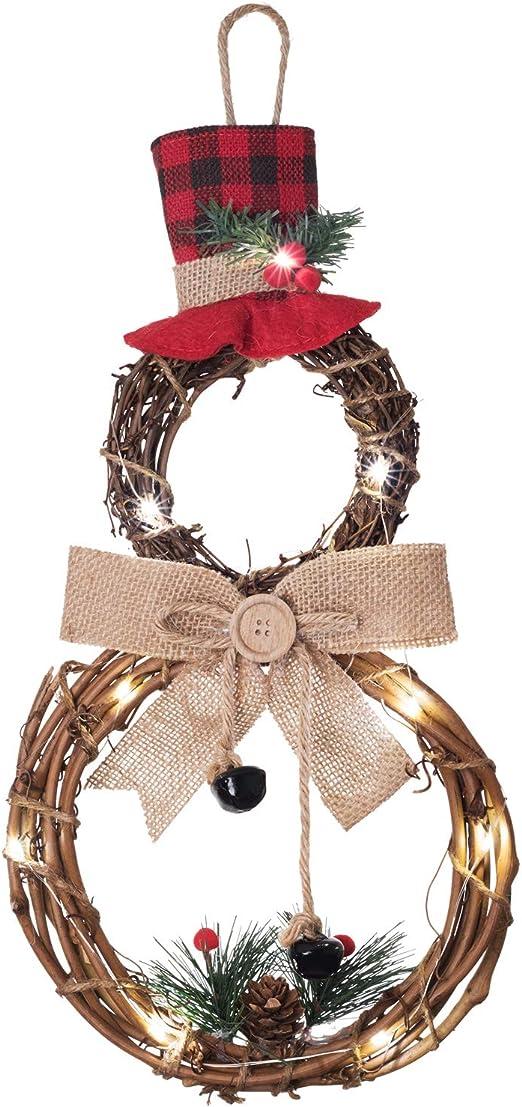 Choose Bow Snowman Wreath Christmas Decor Christmas Wreath Chevron Wreath