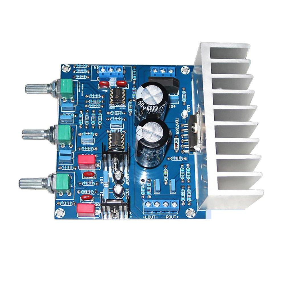 AOSHIKE TDA7265+NE5532 Audio Amplifier Board Hifi Dual Channel Amplifiers 25Wx2 DIY Sound System Speaker Home Theater by AOSHIKE