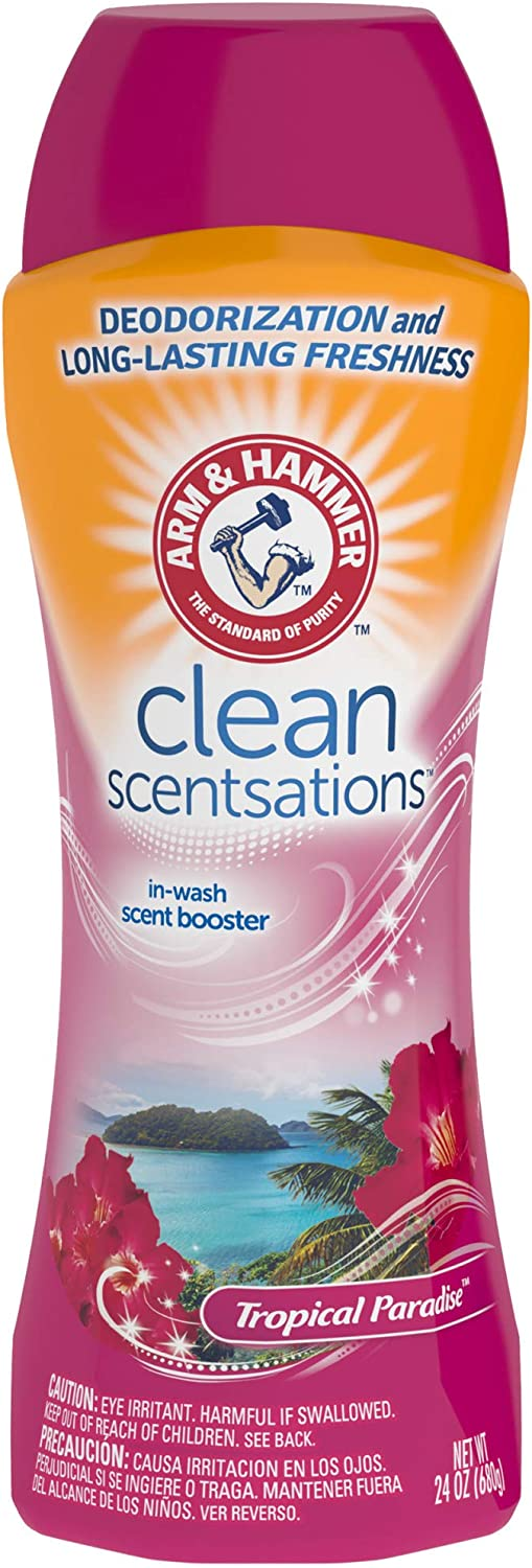 Arm & Hammer In-Wash Scent Booster, Tropical Paradise, 24 oz