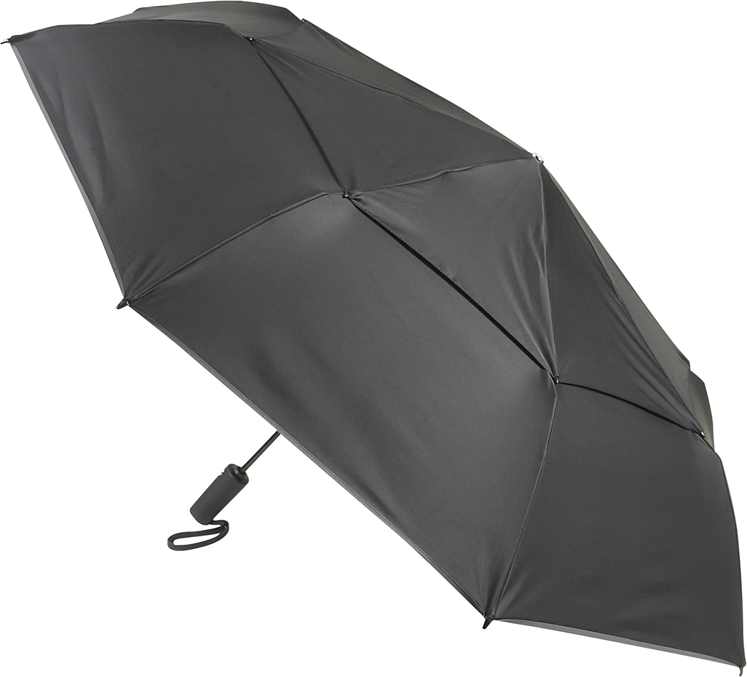 Amazon.com | Tumi Unisex Large Auto Close Umbrella Black Umbrella One Size | Umbrellas
