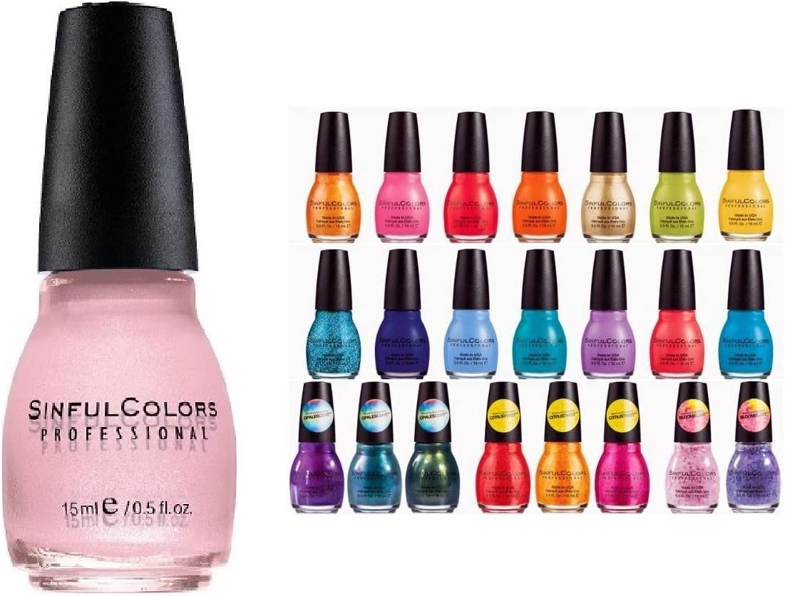 Sinful Colors 10 piece Surprise Nail Polish Set