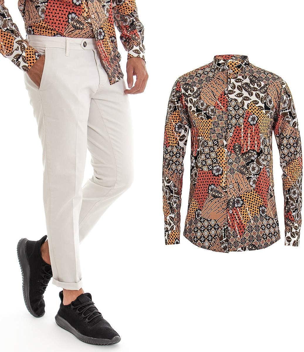 Giosal Outfit - Conjunto de Camisa pantalón Blanco con ...