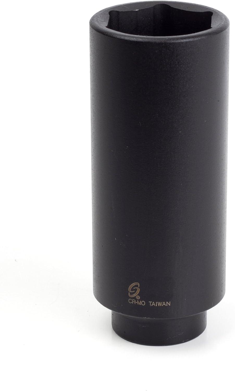 Sunex 246xd 1/2-Inch Drive 1-7/16-Inch Extra Deep Impact Socket