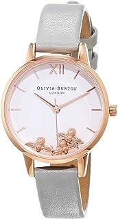 Uhr Ob16ch04 Quarz Mit Analog Damen Olivia Burton Armband Leder Y6vfbgy7