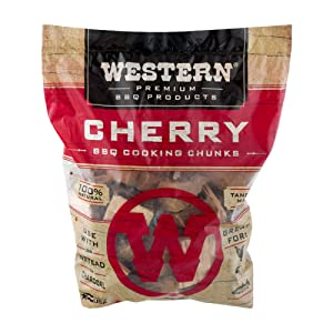 WESTERN 28081 Premium BBQ Products Cherry Cooking Chunks, 549 cu inch