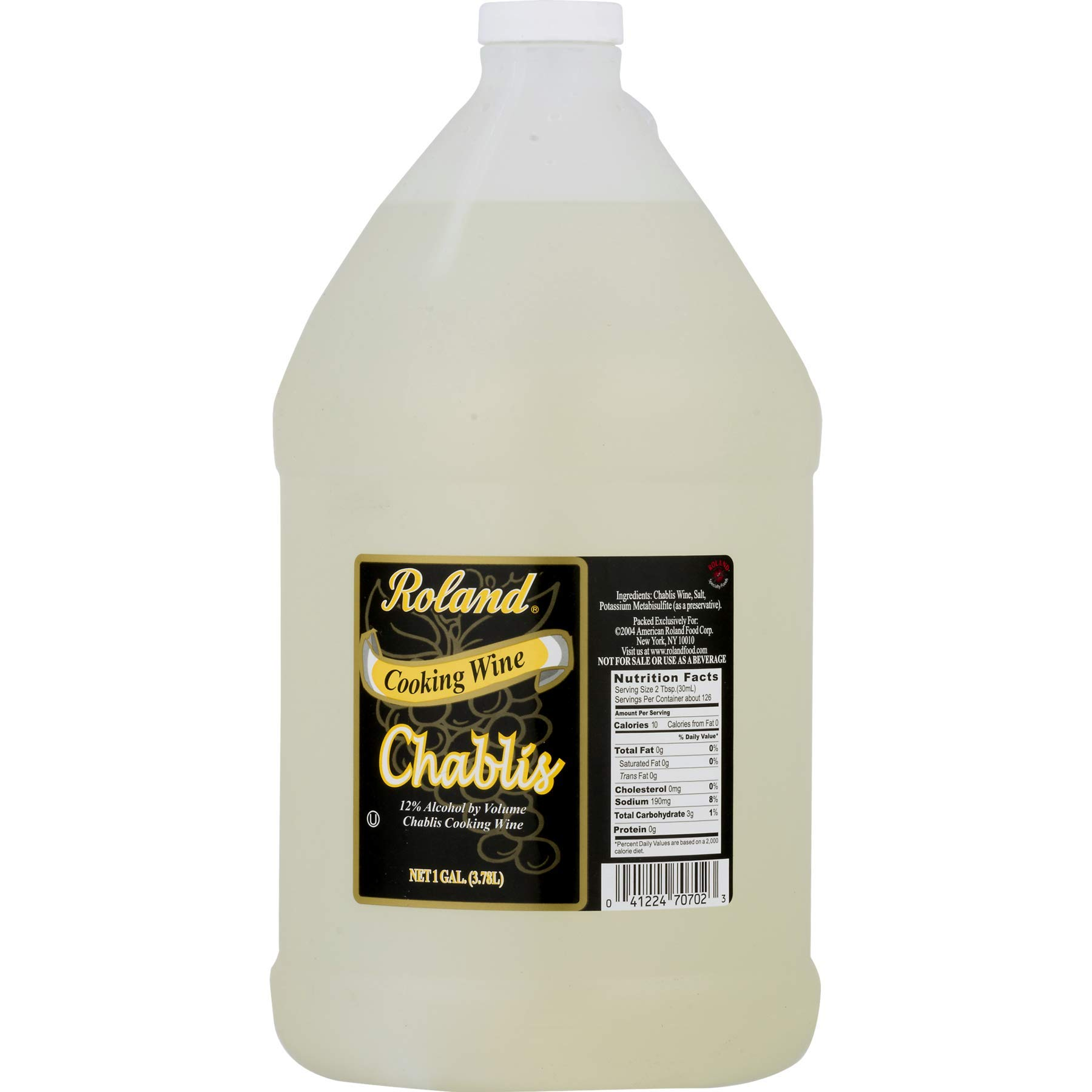Roland Chablis Cooking Wine - 1 Gallon by Raland