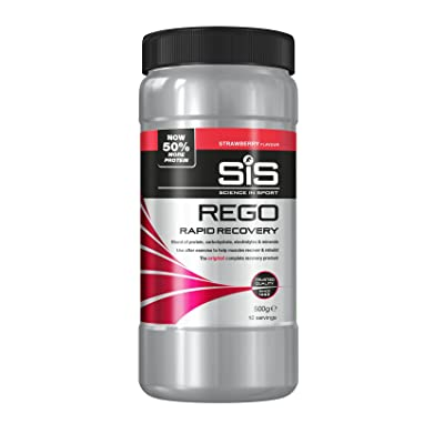 2013 SIS REGO Rapid Recovery Powder Strawberry 500g