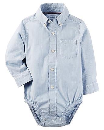 88cc060151ae Amazon.com  Carter s Baby Boys  Plaid Button Front Bodysuit  Clothing