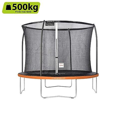 GREADEN trampolín de jardín redondo Freestyle+ 305: Amazon.es ...
