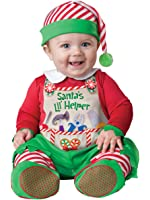 Fun World InCharacter Costumes Baby's Santa's LIL' Helper Costume
