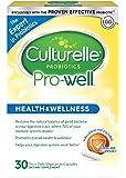 Culturelle 康萃乐 Pro-Well 每日益生元膳食补充剂  恢复吸收道中良好成分的天然平衡*   经验证有效的益生元  30粒素食胶囊