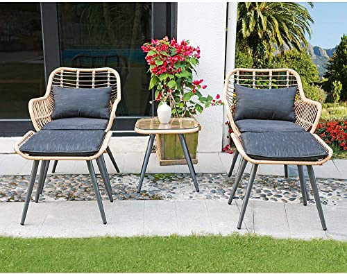 JOIVI 5 Piece Outdoor Patio Furniture Set