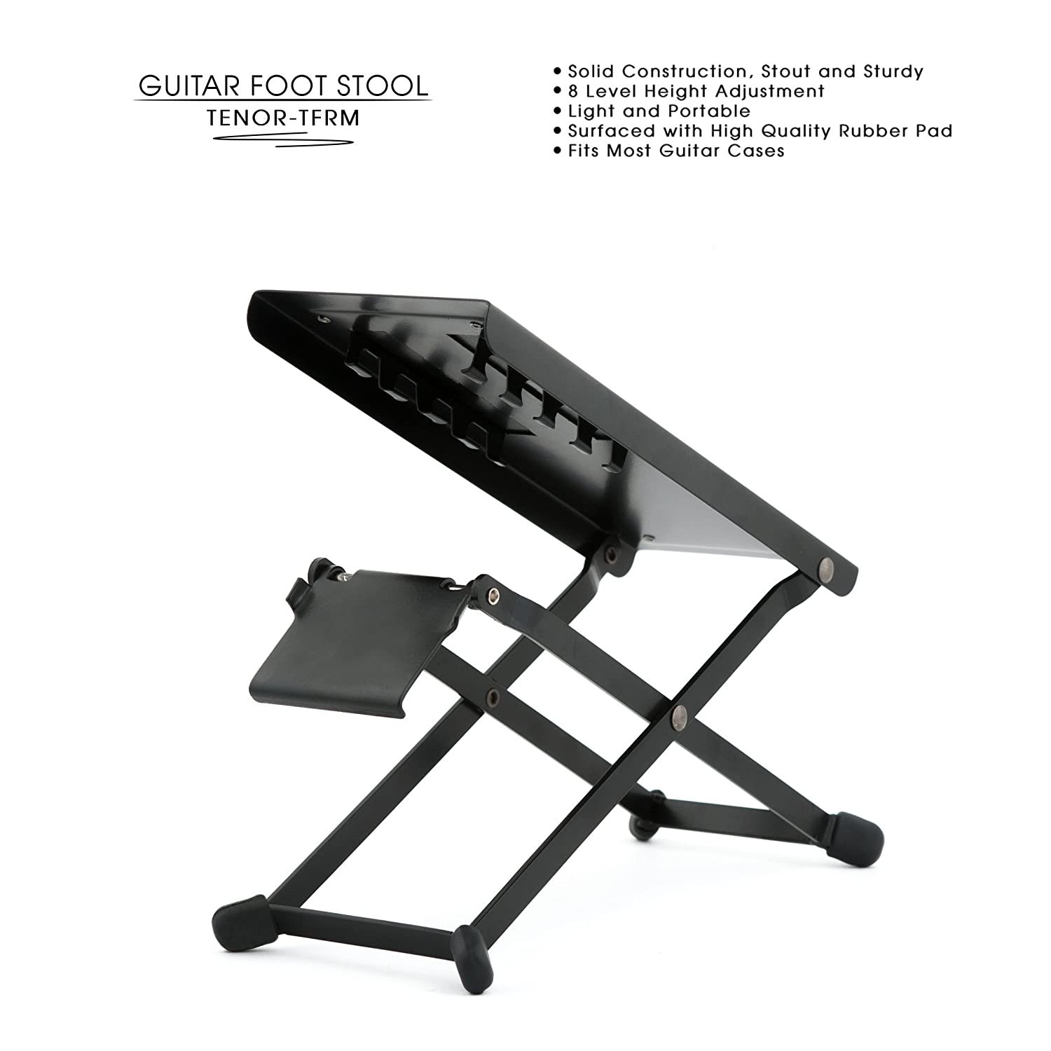Limited Promo Tenor Professional Metal Guitar Foot Rest