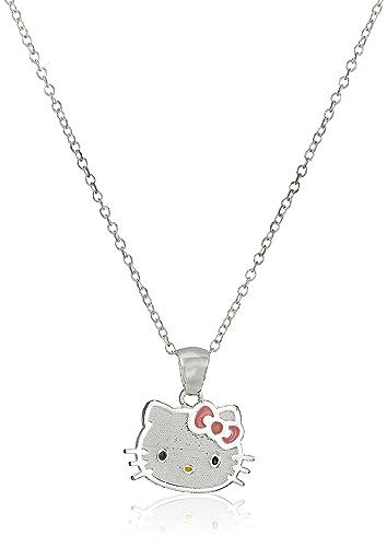 b65df3c86 Amazon.com: Hello Kitty Pink Enamel Box Head Charm: Jewelry