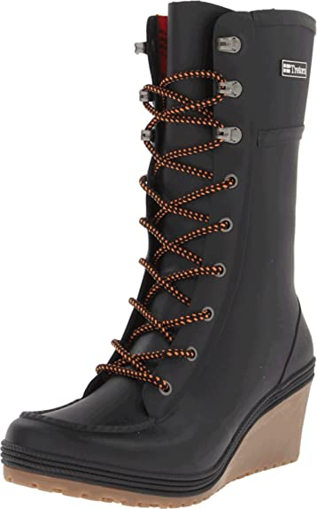 Plask Lace Boots - Womens