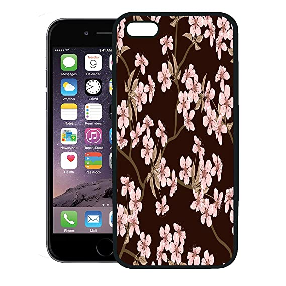 new product 556b8 bd284 Amazon.com: Semtomn Phone Case for iPhone 8 Plus case,Pink Japanese ...