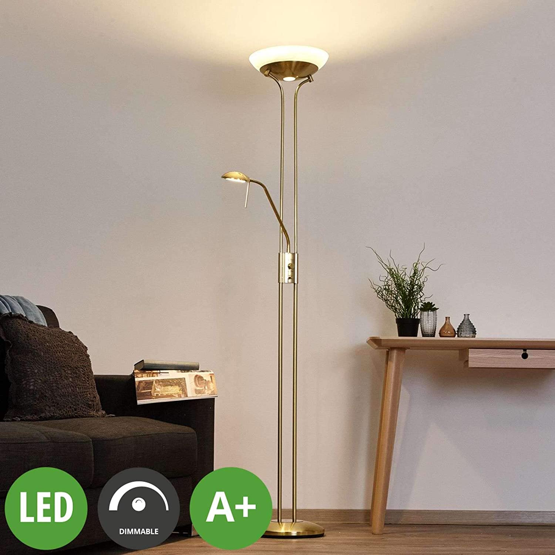 Wohnzimmerlampe Stehleuchte Standleuchte A Inkl Leuchtmittel