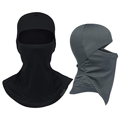 Balaclava Full Face Mask Motorcycle Helmet Liner Breathable Multipurpose Outdoor Sports Wind Proof Dust Head Hood: Automotive