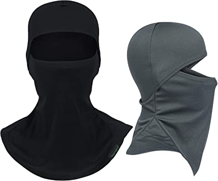 Wind-Resistant Face Mask/& Neck Gaiter,Balaclava Ski Masks,Breathable Tactical Hood,Windproof Face Warmer for Running,Motorcycling,Hiking-Four Shades of Yellow