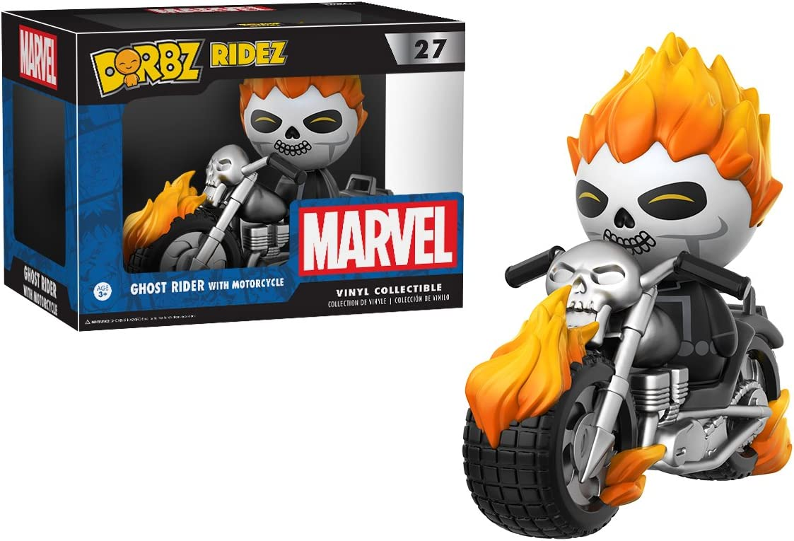 Ghost Rider Metallic US Exclusive Dorbz... Similar Vinyl Products--Ghost Rider