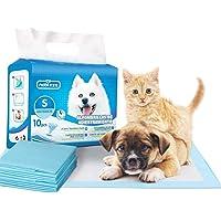 Nobleza - 100 x ultraabsorberande valpträningskuddar hund toalett kismatta, 60 x 40 cm, 10 x 10 paket
