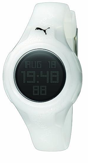 e6e6c1dd4 Puma PU910452003 - Reloj digital de cuarzo para mujer con correa de caucho
