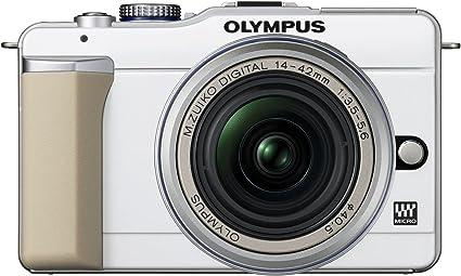 Olympus Pen E Pl1 Systemkamera 2 7 Zoll Gehäuse Weiß Kamera