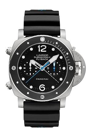 amazon com panerai luminor 1950 submersible men s watch pam00615 panerai luminor 1950 submersible men s watch pam00615