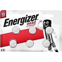 Energizer speciale batterij CR2032-6-delig chroom