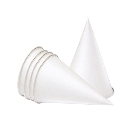 4floz (100ml) Water Cooler Cone Cups, 200 per box, from The Paper Cup  Factory