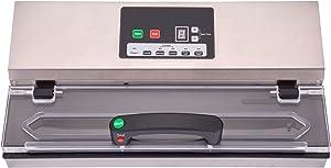 Excalibur EPV15 Professional 15-Inch Vacuum Sealer 580-Watt Dual Pump with Digital Controls, 15-Inch, Silver