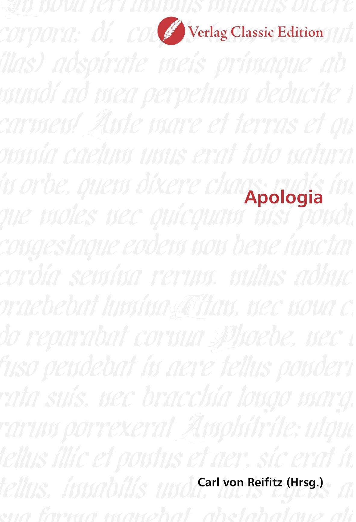 Download Apologia (German Edition) pdf epub