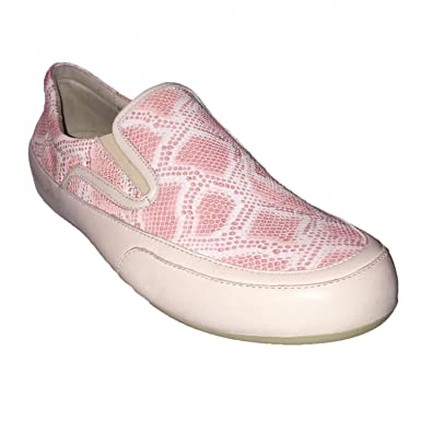 Candice Cooper Damen Slipper Sneaker Giulia Leder rosa, Größe:38.5