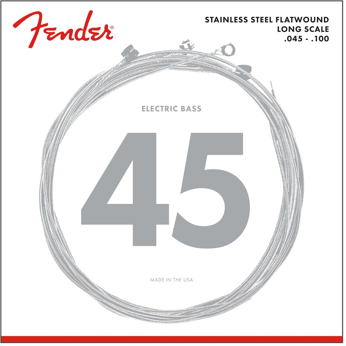 Fender 9050 Stainless Flatwound Bass Strings 74 Jazz B Wiring Diagram Musical Instruments