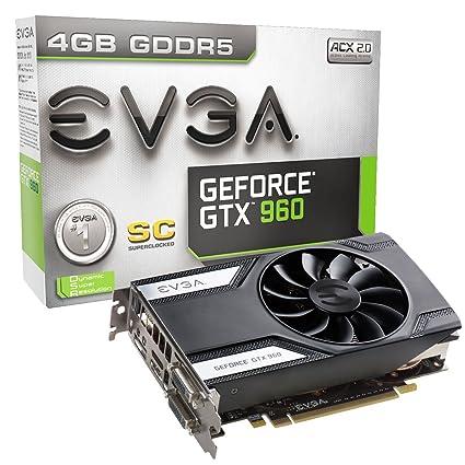 EVGA 04G-P4-1962-KR GeForce GTX 960 4GB GDDR5 - Tarjeta ...