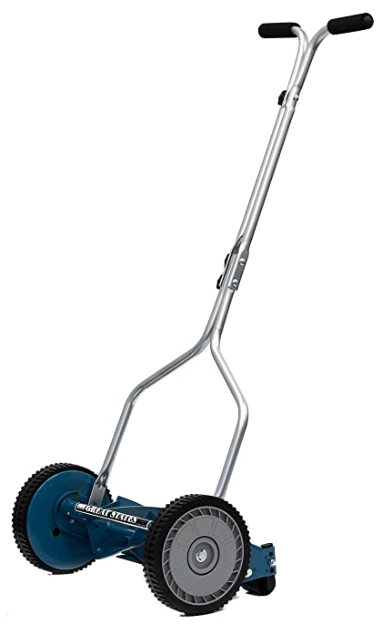 push lawn mower. great states 204-14 hand reel push lawn mower, 14\u0026quot;, 3- mower