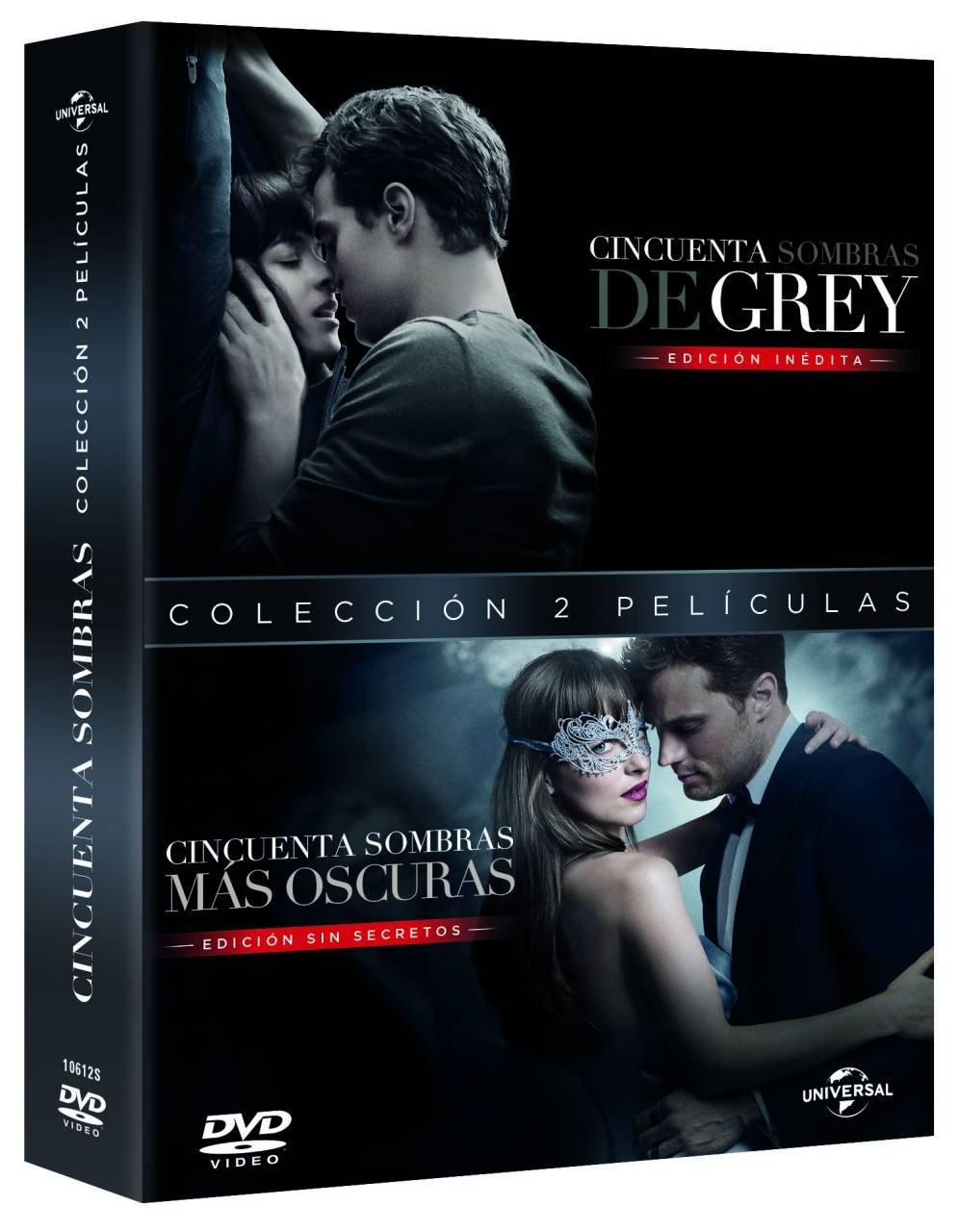 Pack: Cincuenta Sombras De Grey + Cincuenta Sombras Mas Oscuras ...