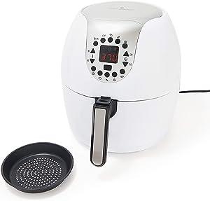 Cook's Essentials 5.3-qt Digital Air Fryer w/ 10 Presets & Pan