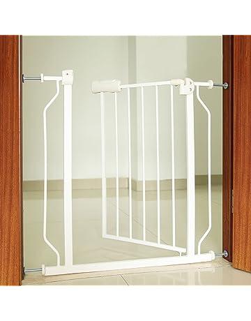 Rejilla de protección de la puerta A 74cm x A 80cm ampliable A 86cm Rejilla de