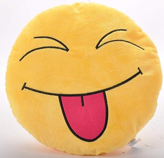 Emmala Emoji Laughing Emoticon Cojín Almohada Cojín Silla ...