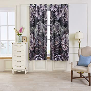Amazon Com Dbtxwd Blackout 3d Curtains Polyester Digital Printing
