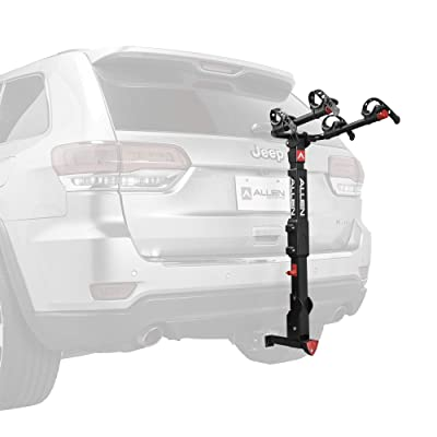 Allen Sports Premier Locking Quick Release 2-Bike Carrier for 2 in. & 1 4 in. Hitch, Model QR525 : Sports & Outdoors