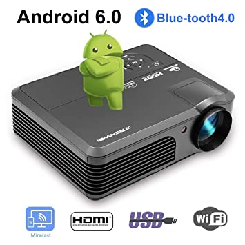WXGA LED HD Proyector Inalámbrico Bluetooth HDMI Smart LCD ...